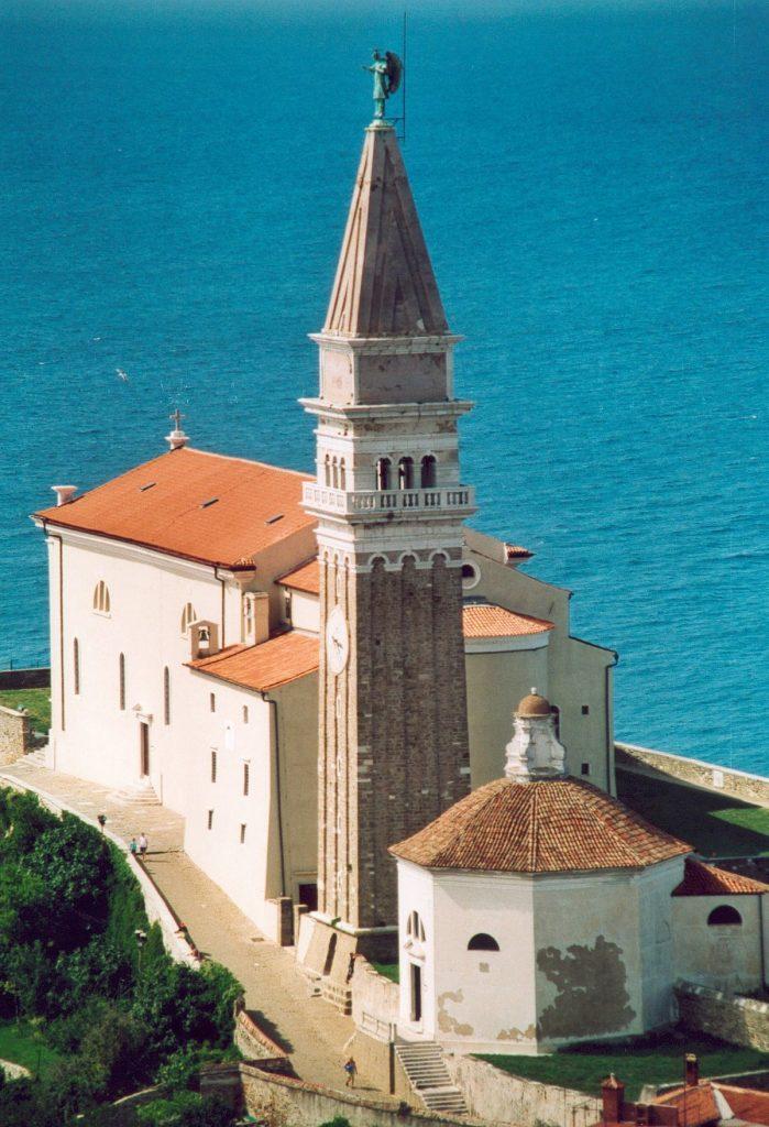 slika – cerkev Sv.Jurija Piran